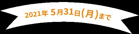 2020年12月31日(木)まで